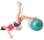 Exercise Ball - Groundwork training