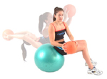 Exercise Ball - LIFT AND TWIST